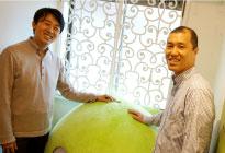 Orinoco Peatix株式会社の取締役営業担当藤田様と財務・総務ディレクター齋藤様の写真