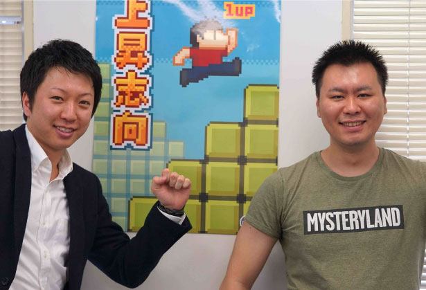 株式会社ドロップシード代表取締役社長/吉田様(写真:左)と取締役 CTO/矢野様(写真:右)の写真