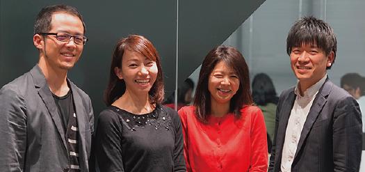株式会社WACUL経理部/マネージャー田村様と経理小田切様取締役CFO竹本様の写真