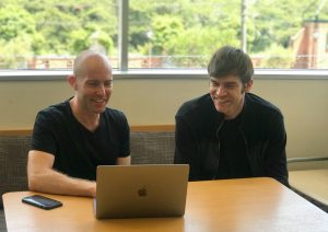 MakeLeaps CEOとCTOの写真